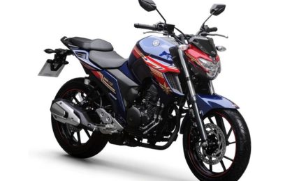 Yamaha FZ25 Captain Marvel Edition