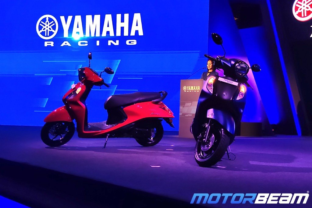 Yamaha Fascino 125 FI Launched, Priced From Rs. 66,430/-