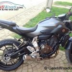 Yamaha MT-07 Spied India