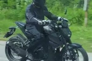Yamaha MT-15 Spy Shot