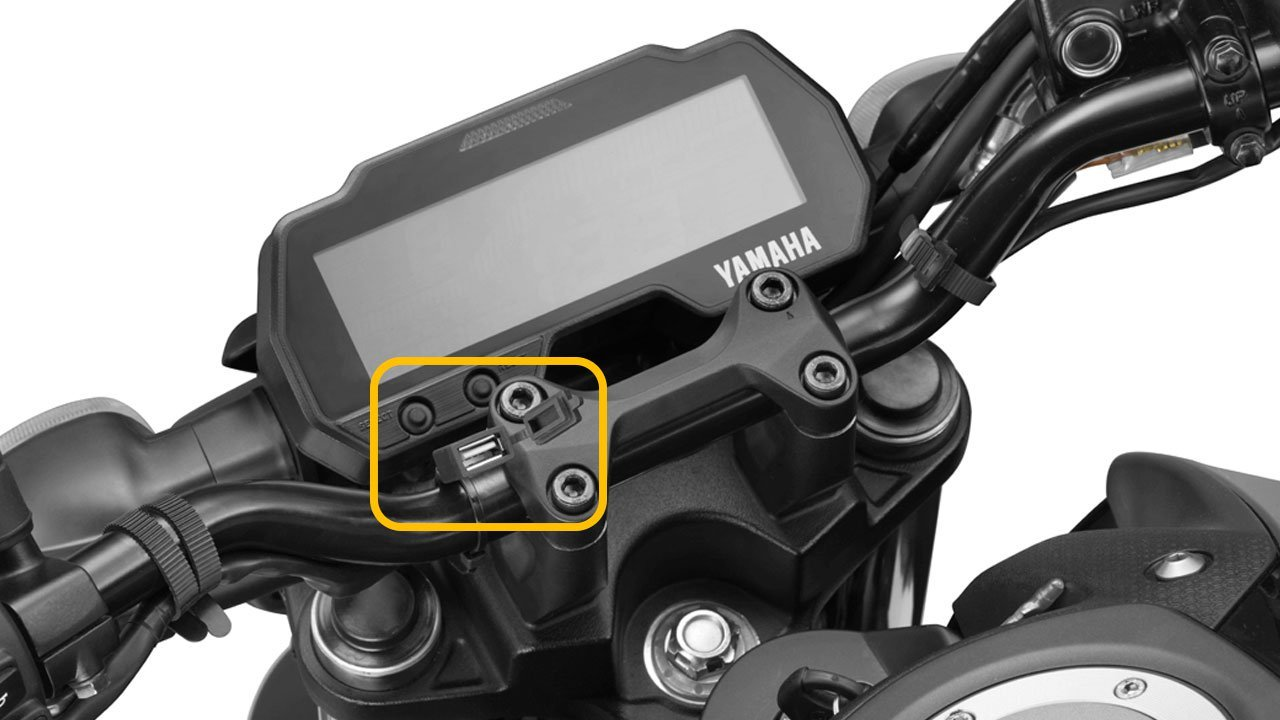 Yamaha MT-15 USB Charger