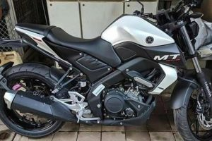 Yamaha MT-15 White-Black