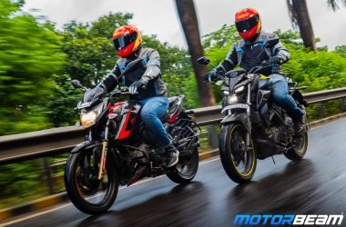 Yamaha MT-15 vs TVS Apache 200 4V Comparison Video
