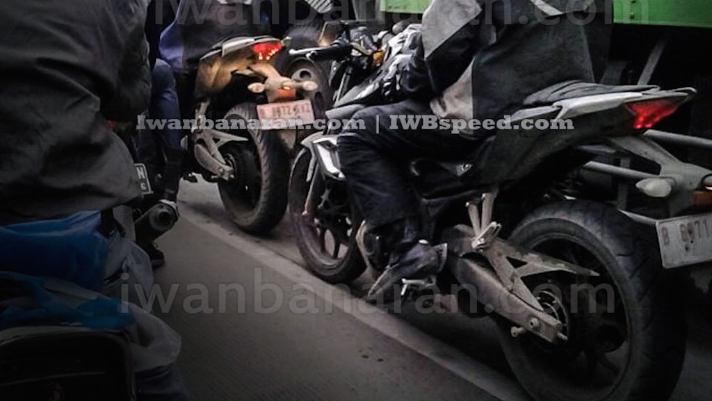 Yamaha MT-25 Spy Shot Indonesia