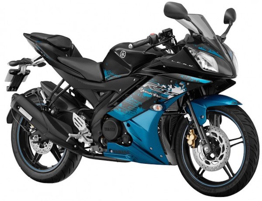 Yamaha R15 Streaking Cyan Limited Edition