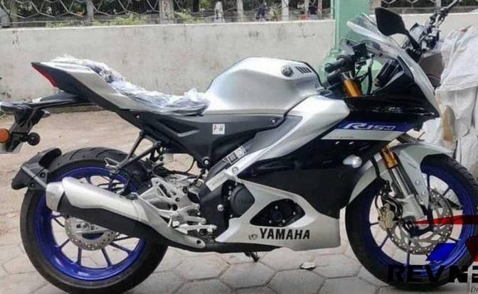 Yamaha R15M Spotted Colours