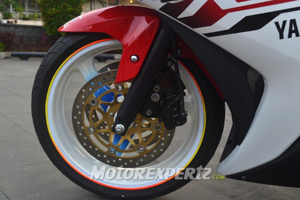 Yamaha- 25 Modified Indonesia Dual Front Discs