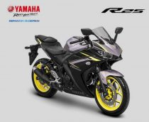 Yamaha R25 Silver Black Indonesia