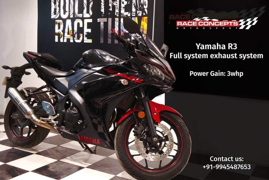 Yamaha R3 Race Concepts Exhaust