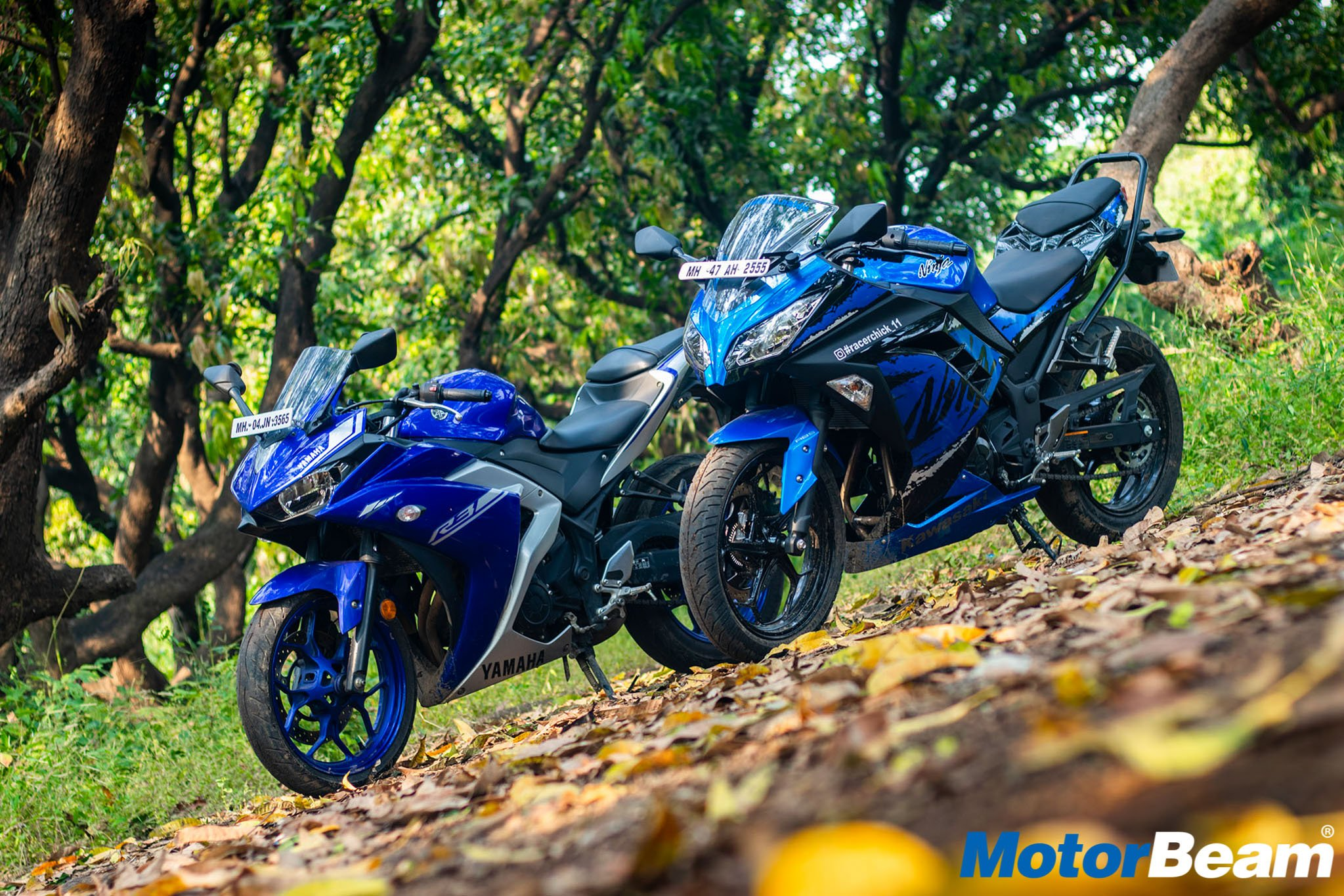 Yamaha R3 vs Kawasaki Ninja 300 Comparison Review