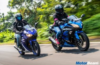 Yamaha R3 vs Kawasaki Ninja 300 Video Shootout