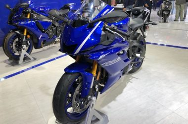 Yamaha R6 Showcased At Auto Expo