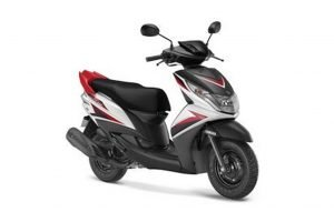 Yamaha Ray Z White Red Black