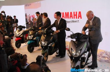 Yamaha Cygnus Ray-ZR Launched, Priced From Rs. 52,000/-