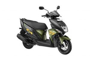 Yamaha Ray ZR Matte Green Review