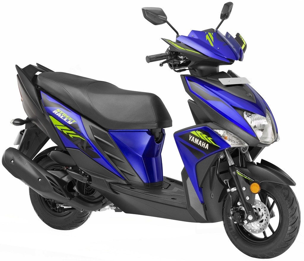 Yamaha Ray ZR Street Rally Blue Colour