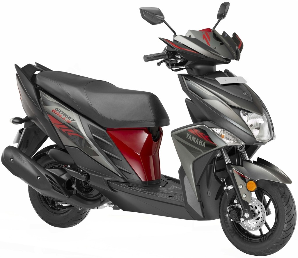 Yamaha Ray ZR Street Rally Red Colour