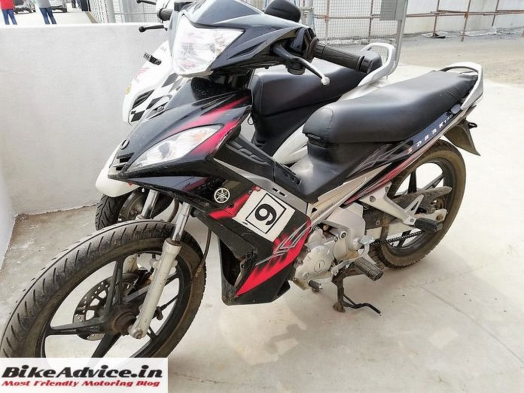 Yamaha Spark Spied In India