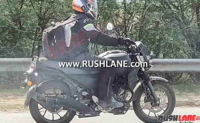Yamaha XSR250 Spotted