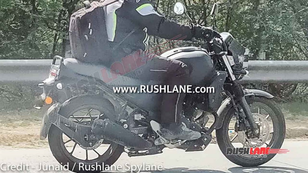 Yamaha XSR250 Spotted Side