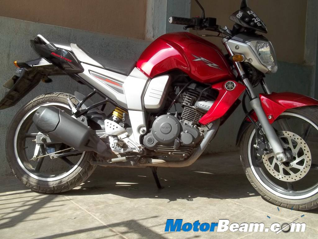 Yamaha fz16 get featured