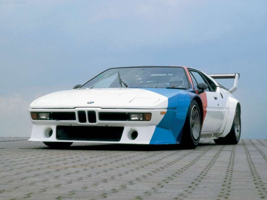 bmw m1 supercar white