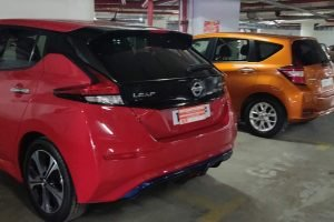 Nissan Leaf and Nissan Note e-Power