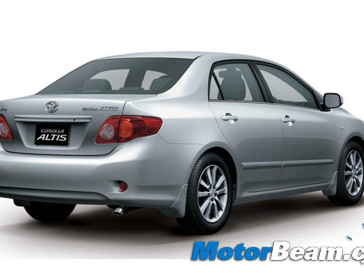 2011 Toyota Corolla Altis Changes Pictures