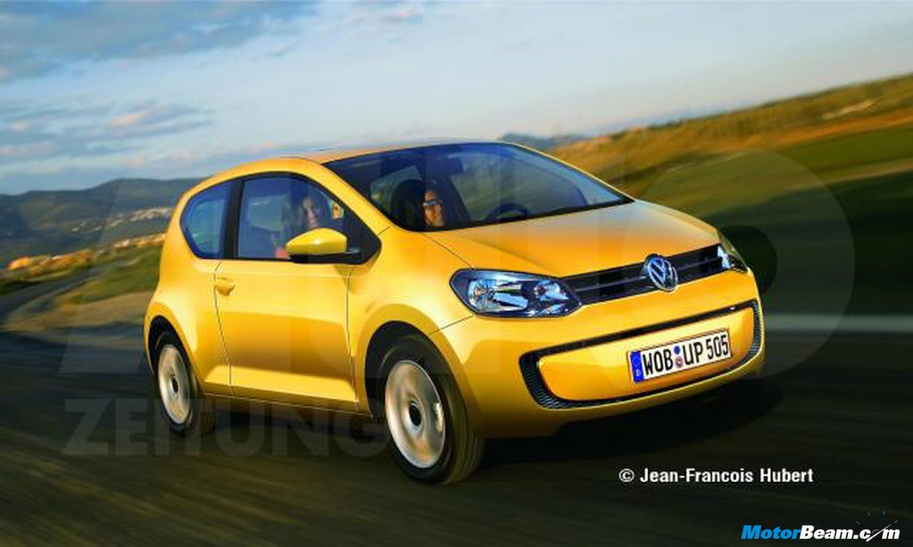 volkswagen Up production